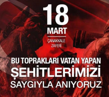 ÇANAKKALE ZAFERİ'NİN 105. YILI