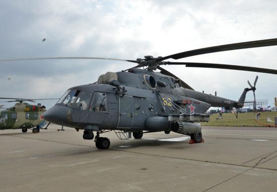 Rusya'da Askeri Helikopter Düştü; 4 Can Kaybı!