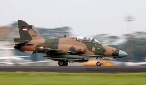 Endonezya'da BAe Hawk Kazası