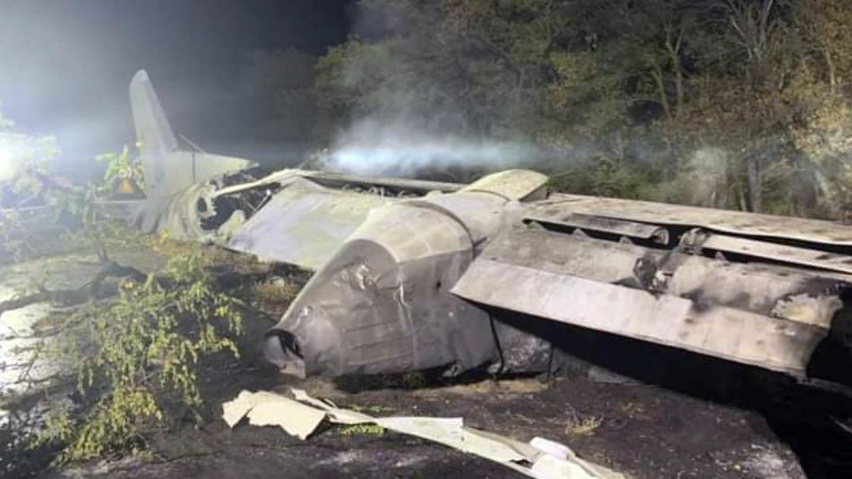 ukrayna uçak kazasından yeni görüntüler
