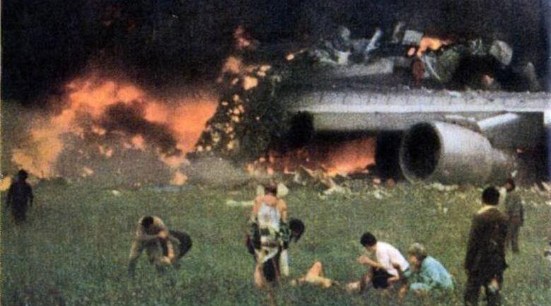 B747 Tipi Uçak Büyük Hasar Aldı !!