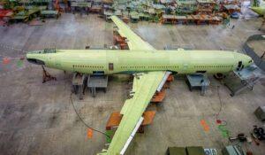 Il-96-400M İnşa Edilmeye Başladı