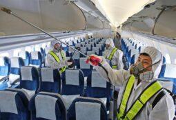 Uçaklarda Virüs Tartışması