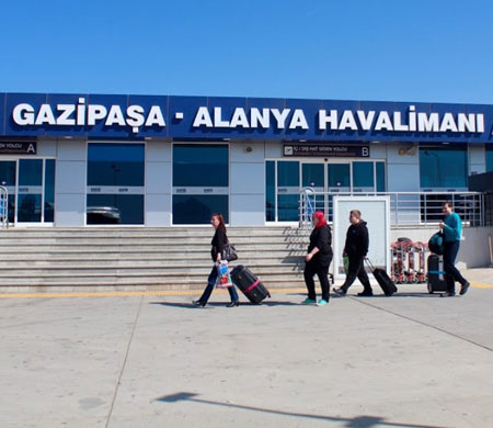 Gazipaşa Havalimanı ACI World Sertifikası Aldı