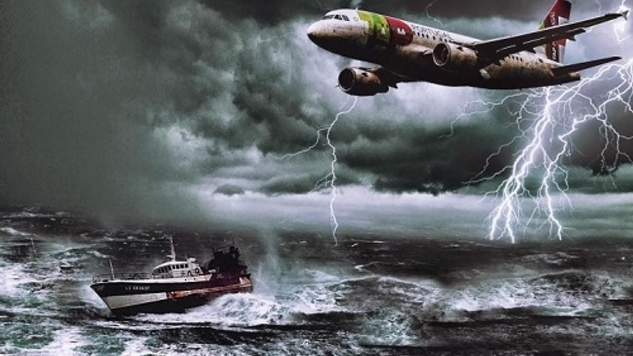 Uçak Yutan Bermuda Şeytan Üçgeni