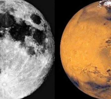 Ay'ın Kayıp İkizi, Mars'ın Arasında Gizlenirken Bulundu