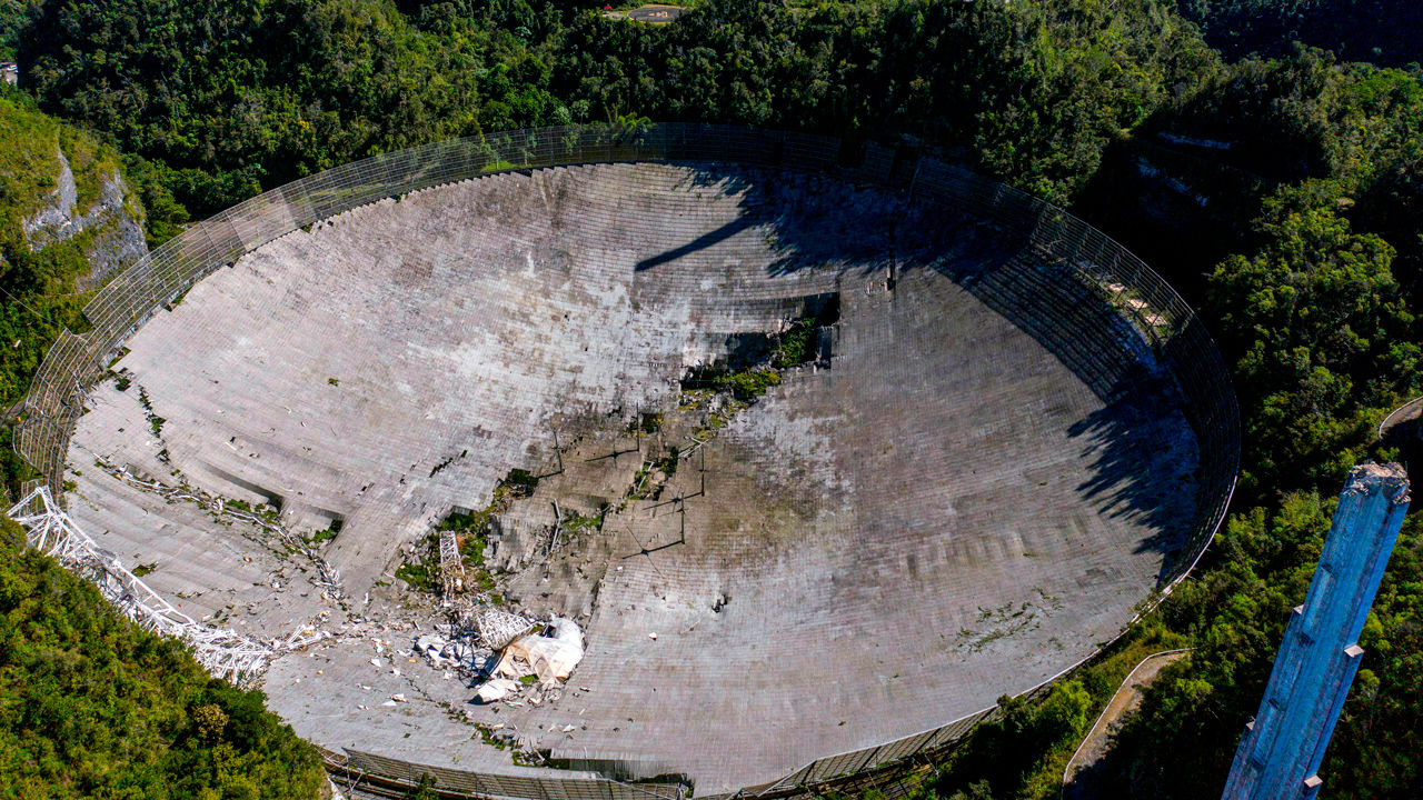 PUERTORICO-SCIENCE-ASTRONOMY-OBSERVATORY-US
