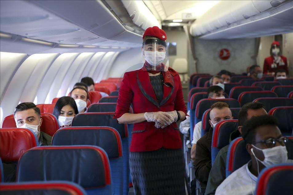 maske uçak