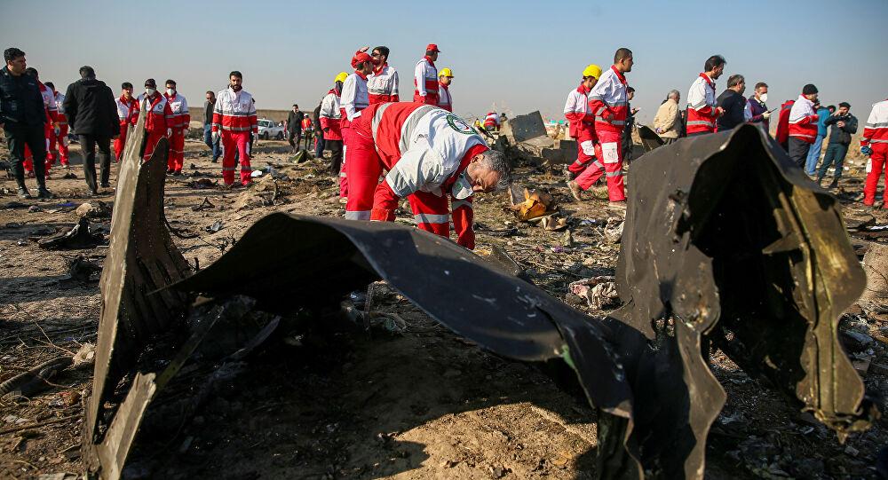 Düşürülen Ukrayna Yolcu Uçağı
