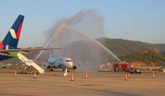 Tailwind Tahran'dan Gazipaşa-Alanya'ya İlk Uçuşunu Yaptı